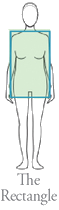 The Rectangle body shape