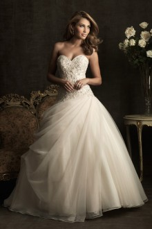 The front of the Venusta Wedding Dress