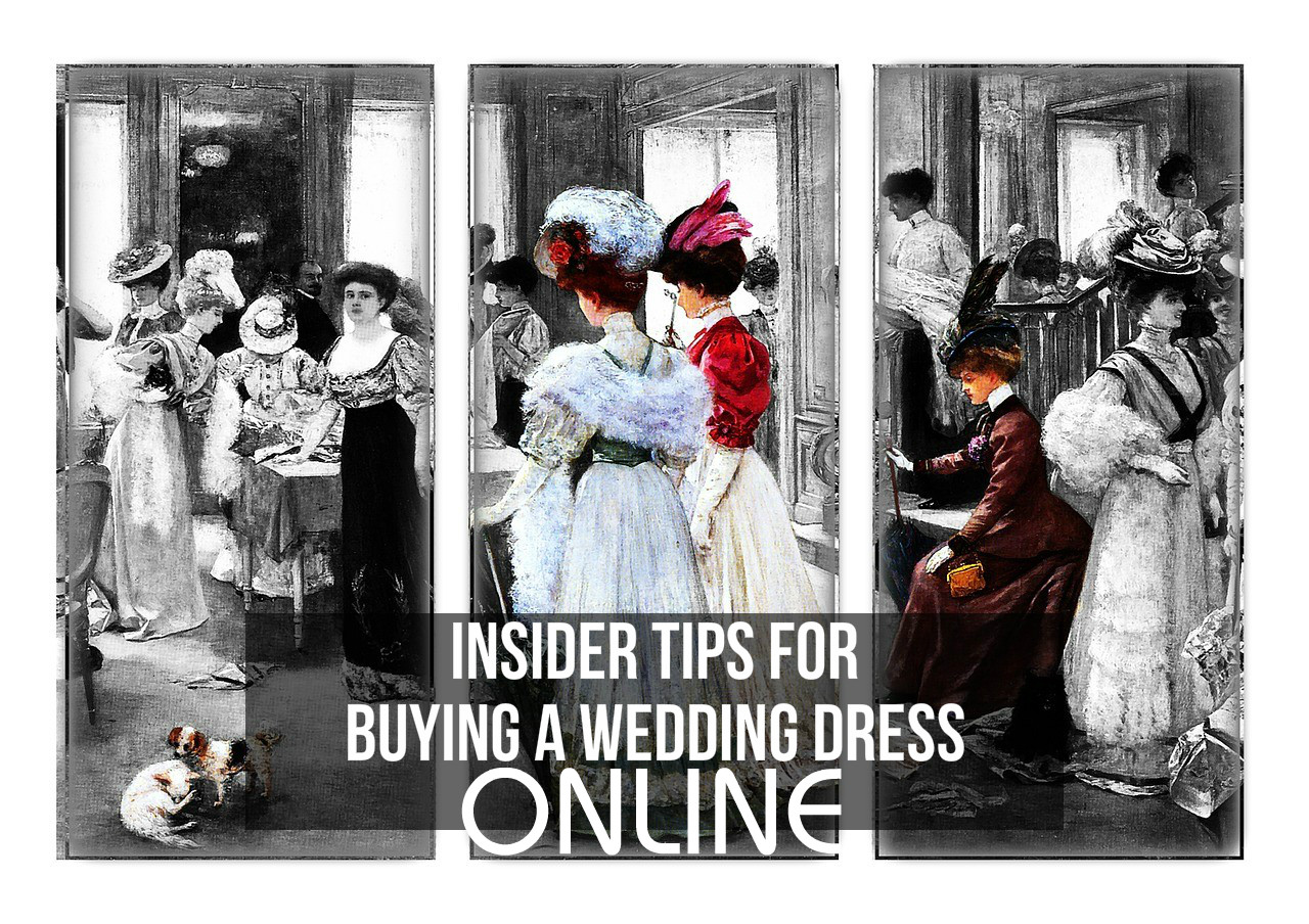 Insider tips for buying a wedding dress online