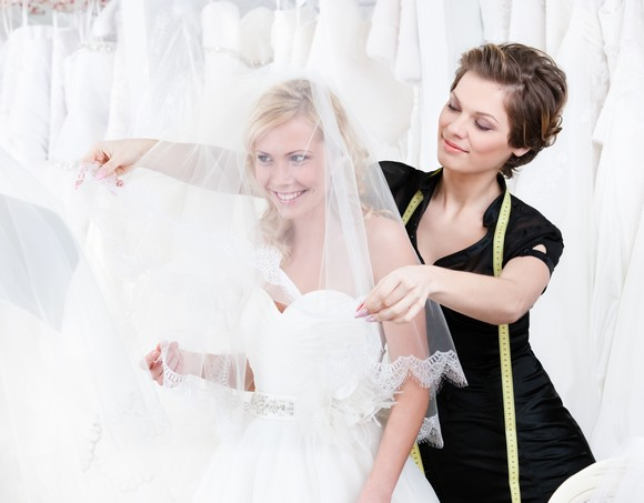Get help from your bridal consultant