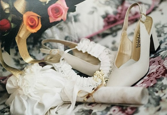 Wear your wedding dress shoes